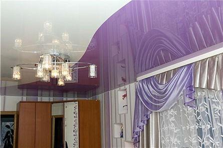 Цвет потолка для спальни