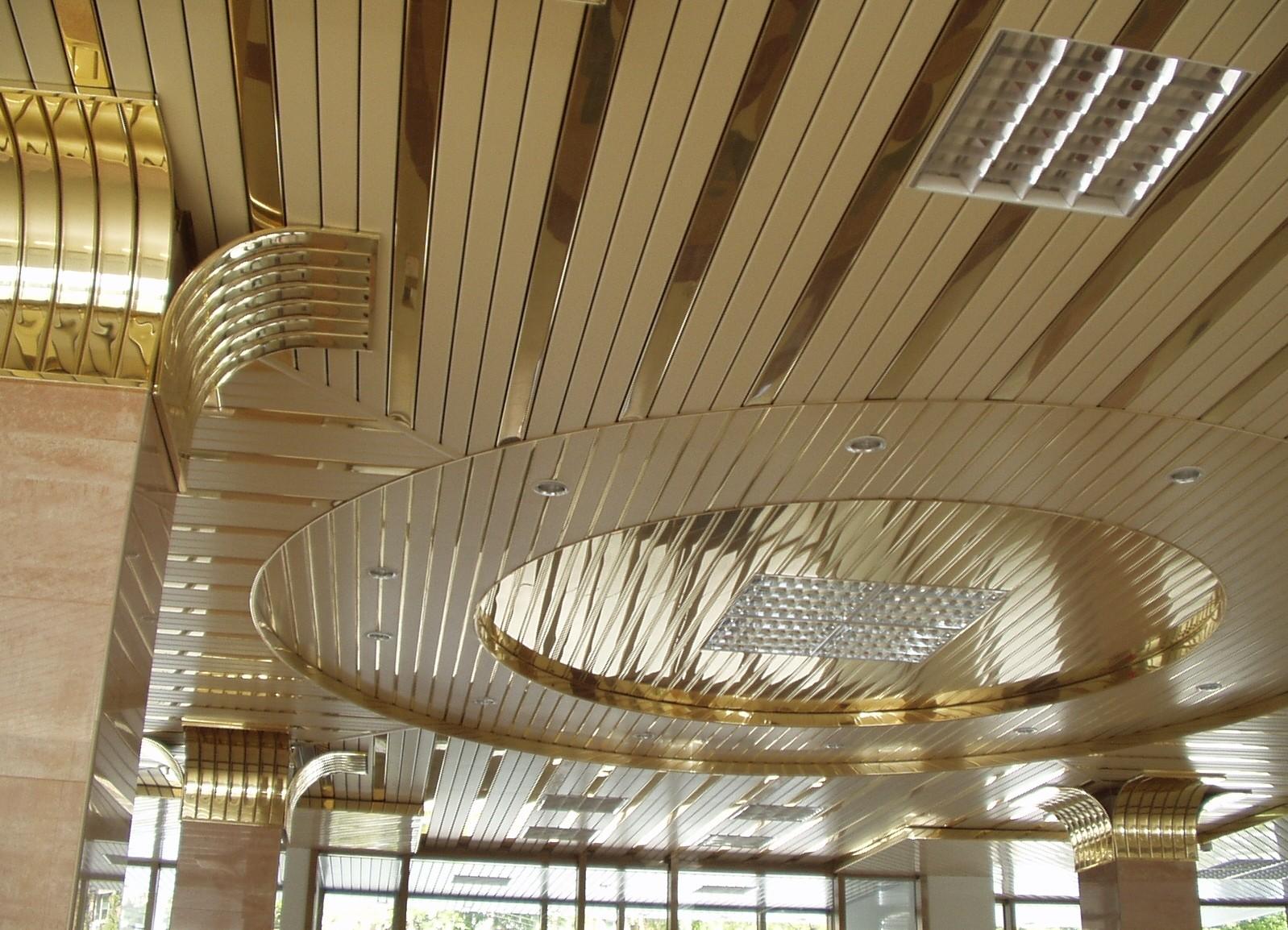 Виды подвесных реечных систем