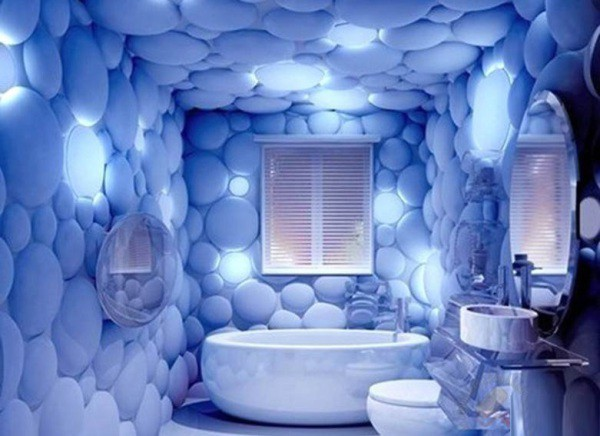 Флуоресцентные обои с 3Dэффектом