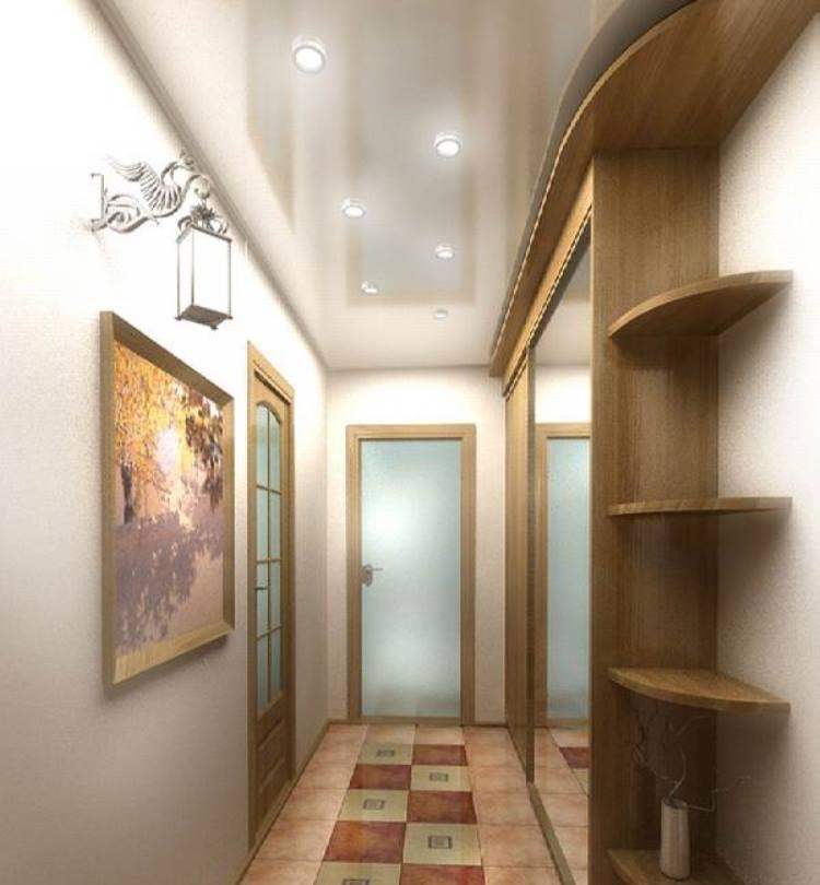 Как сделать потолки в коридоре