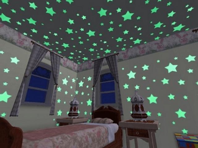 Наклейки на потолок «звездное небо»