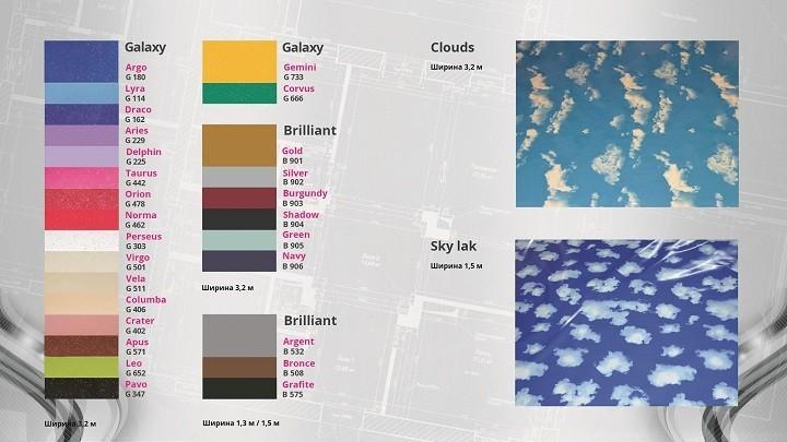 Особенности материала тканевых бесшовных потолков