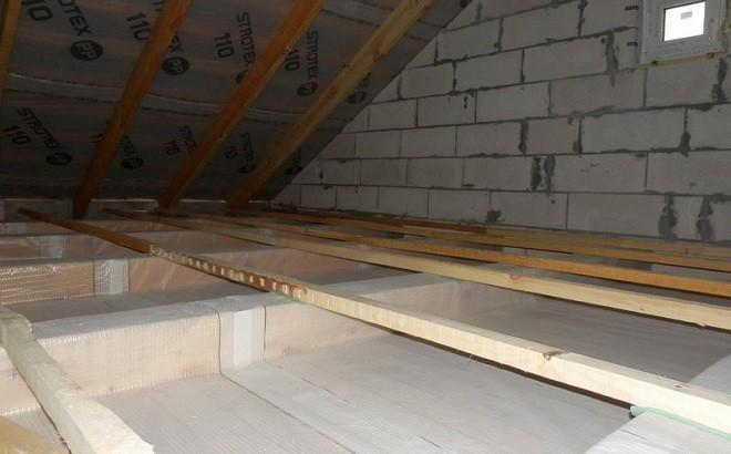 Особенности пароизоляции потолков в доме