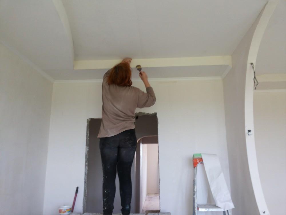 Особенности шпаклевки потолка под покраску