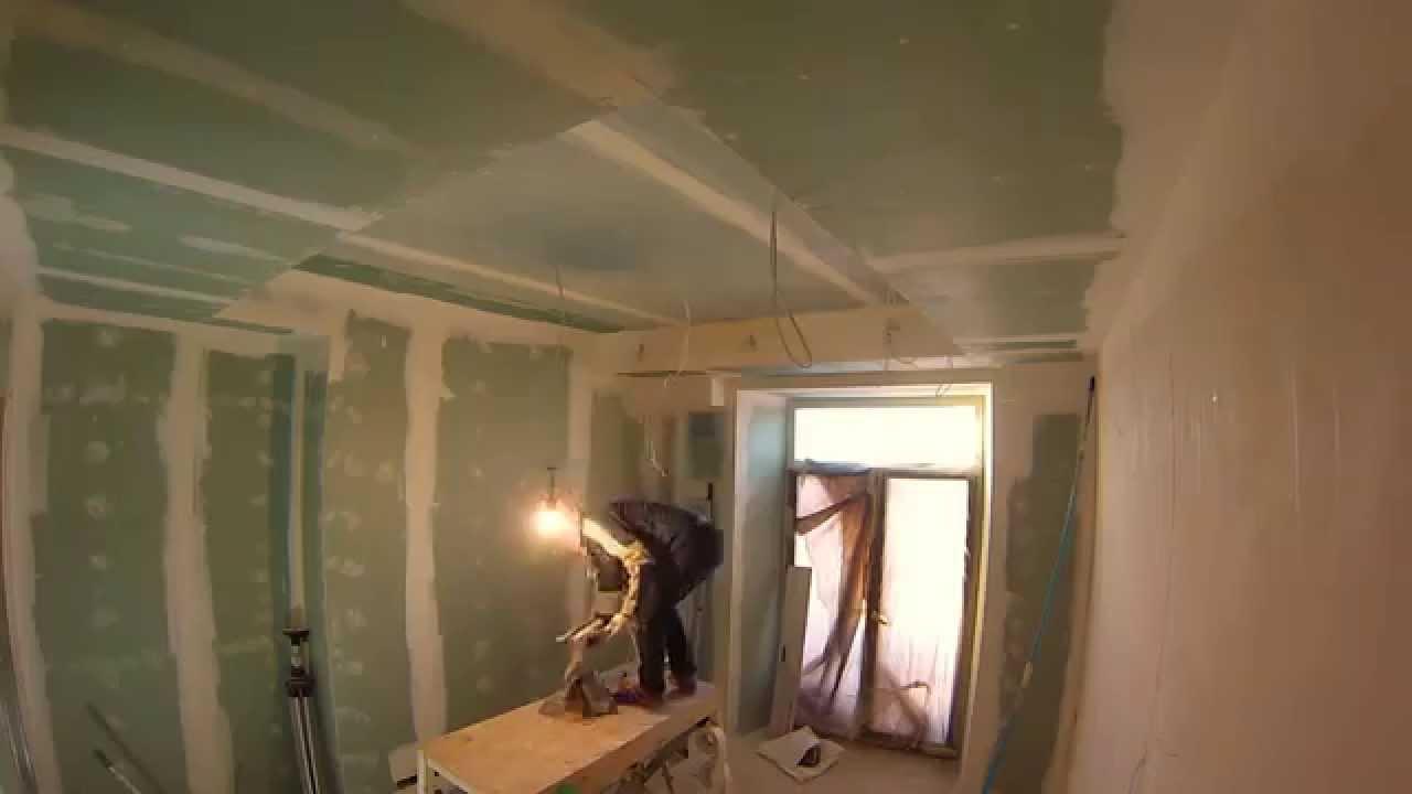 Стеклохолст для гипсокартонного потолка