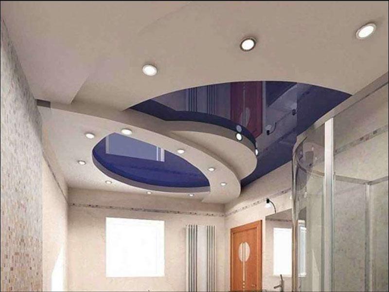 Виды комбинированных потолочных конструкций