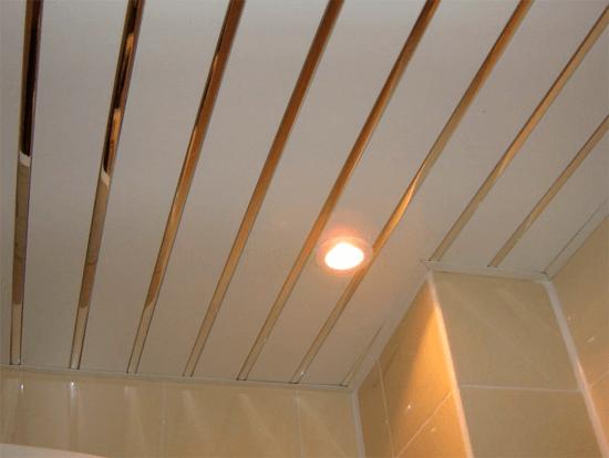 Виды металлических реечных подвесных систем