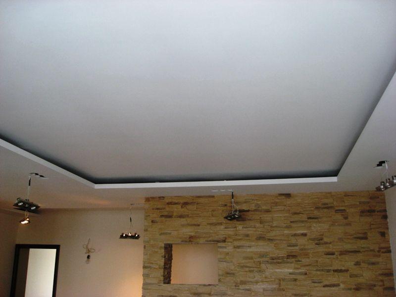 как сделать подвесной потолок из гкл