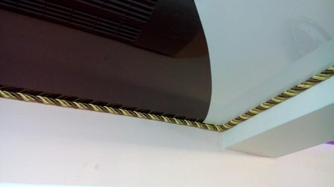 Декоративный шнур на натяжной потолок