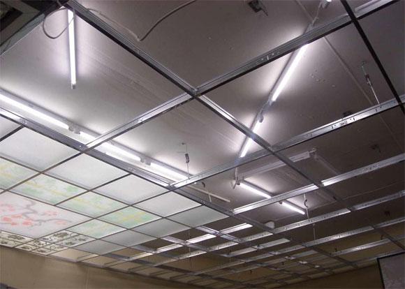 Этапы монтажа стеклянных потолков