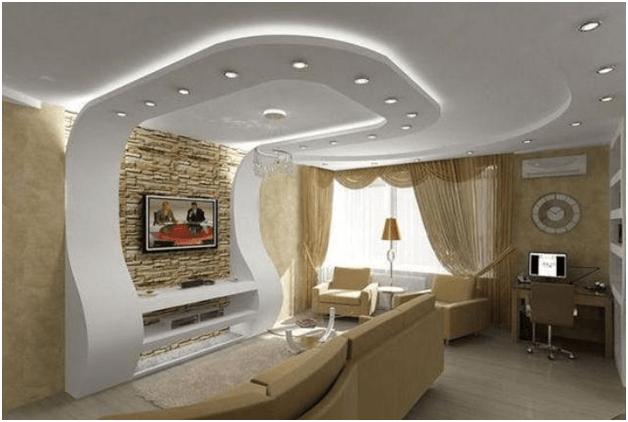 Как сделать красивые потолки из гипсокартона