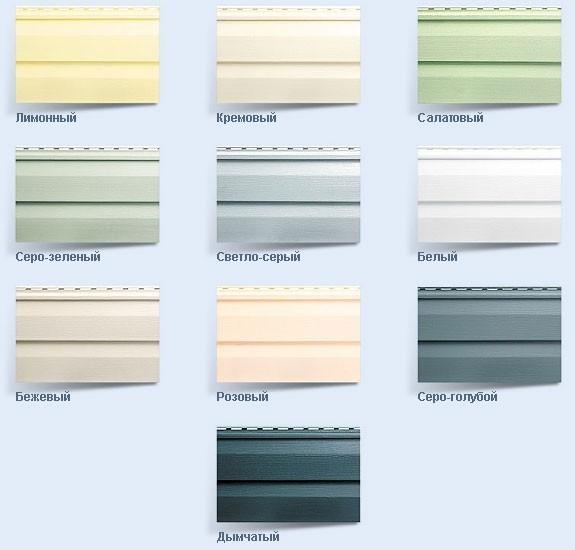 Как выбрать сайдинг для потолка