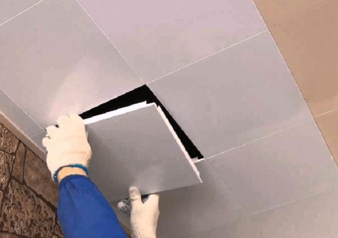 Кассетный потолок закрытого типа своими руками