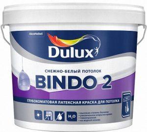 Краска для потолка Dulux