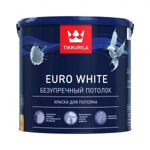 Краска для потолка Tikkurila
