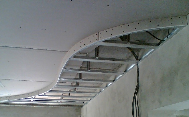 Монтаж многоуровневых подвесных потолков своими руками