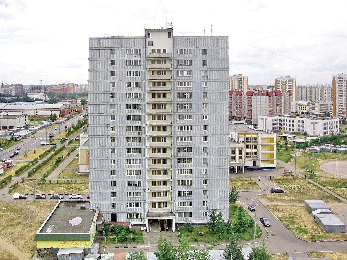 Панельные и блочные дома