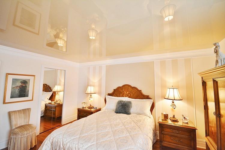 Цвет подвесного потолка натяжные потолки в спальне