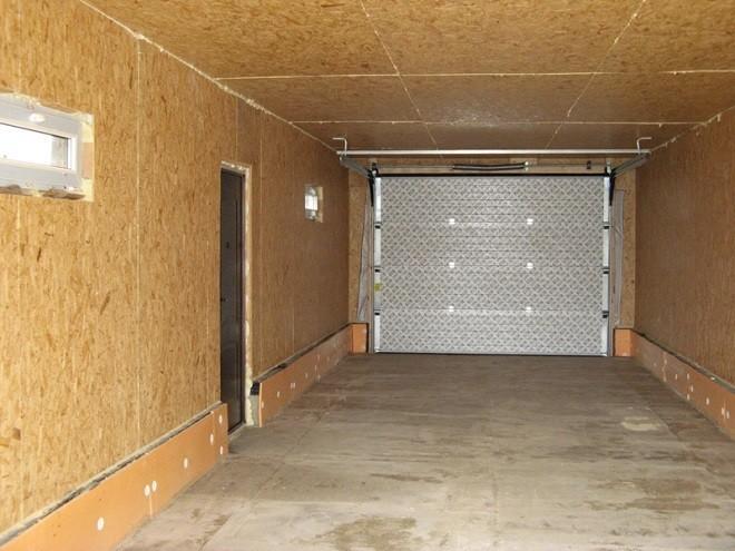 Утепление гаража с внутренней стороны