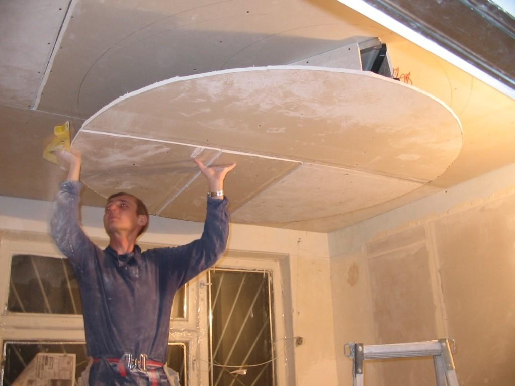 Возможные ограничения для установки потолков из ГКЛ