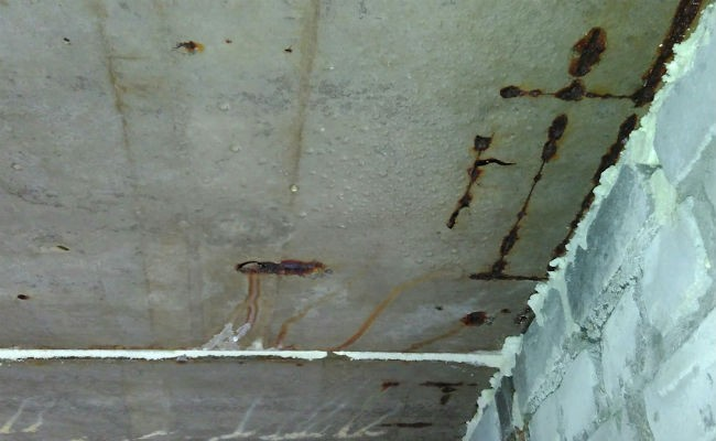 конденсат на потолке в гараже