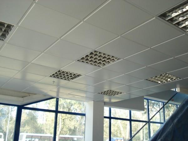 открытый кассетный потолок