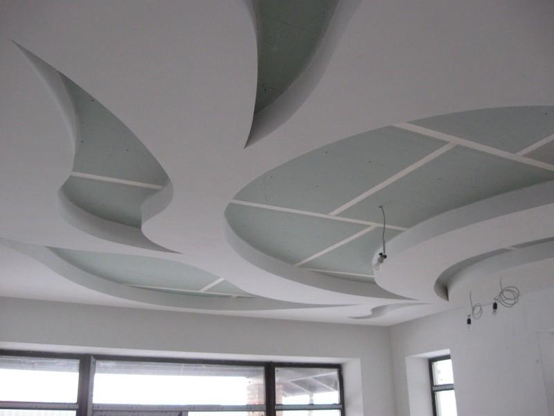 потолки из ГКЛ