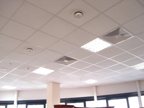 закрытый кассетный потолок