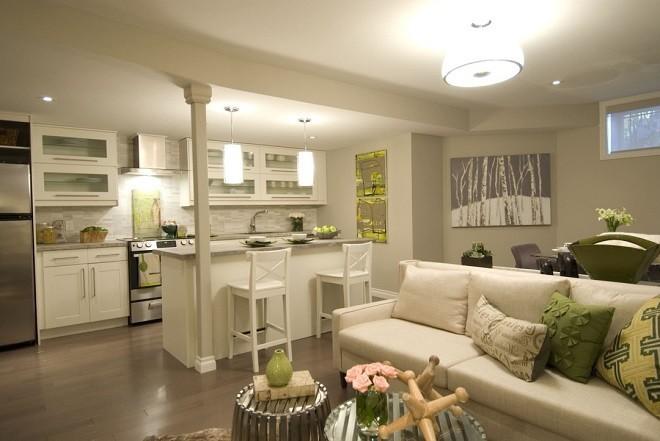 Архитектурные решения комнаты с низкими потолками