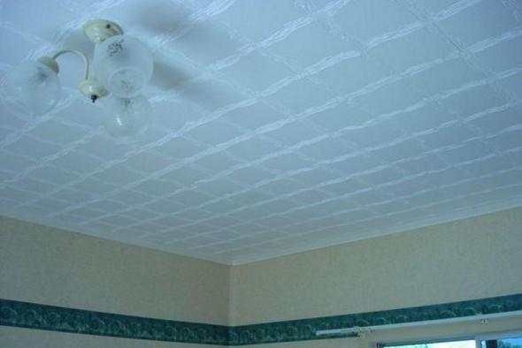 Бесшовная потолочная плитка из пенополистирола