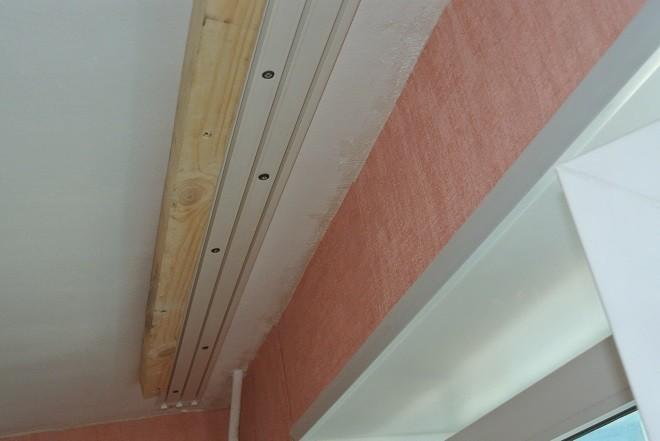 Короб под карниз в натяжном потолке