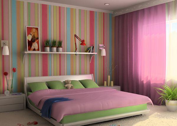 Декор комнаты с низкими потолками
