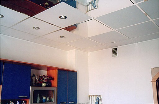 Кассетный навесной потолок