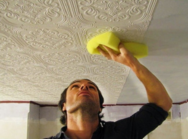 Основные правила ухода за потолочной плиткой