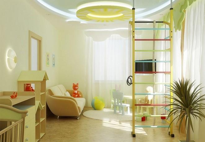 Советы по освещению детской комнаты