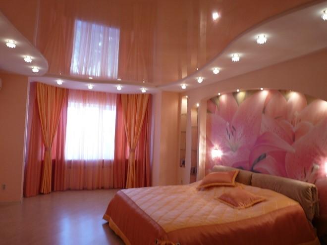 цвета для потолка в спальне