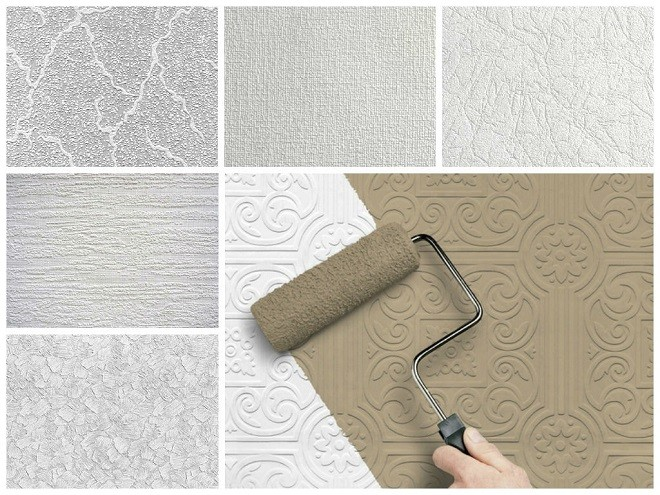 Флизелиновые обои для потолка под покраску