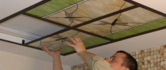Витражные потолки: виды и техники витражей, монтаж