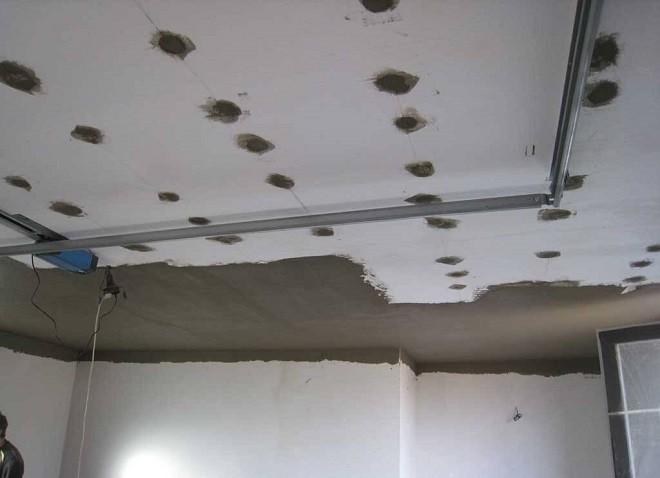 Утепление потолка пенопластом под штукатурку