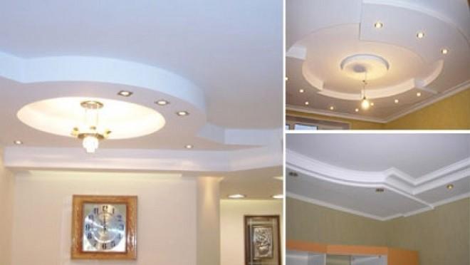 Выбор освещения для гипсокартонного потолка