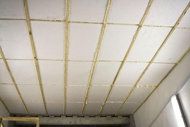 Фото утепление пололка внутри гаража пенопластом