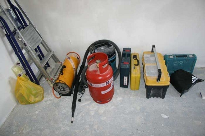 Инструменты и материалы натяжного потолка