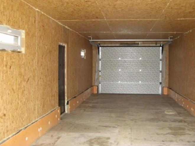 Как сделать потолок в гараже своими рукамииз ОСП