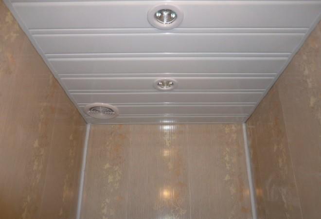 ПВХ панели для туалета
