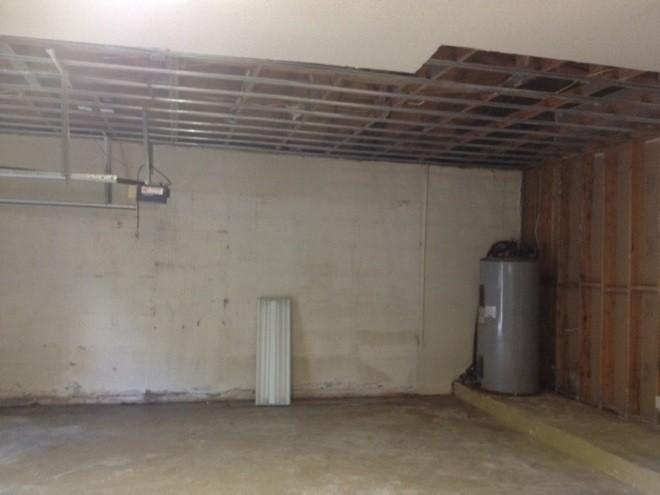 Потолки в гараже из гипсокартона