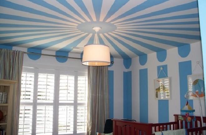 Рекомендации по идеальному окрашиванию потолков