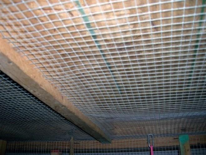 Сетка для штукатурки потолка