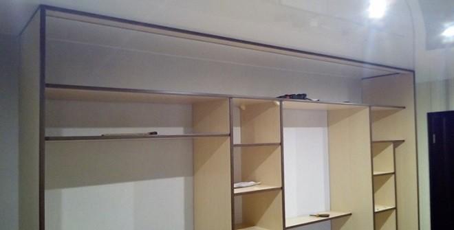 Установка шкафа купе без закладного бруса