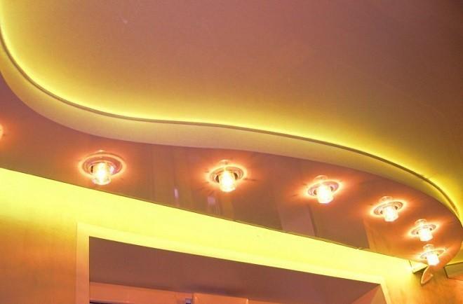 диодная лента для потолка