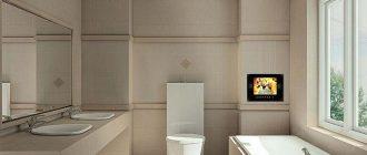 Натяжной потолок в ванной комнате - отзывы и мнения